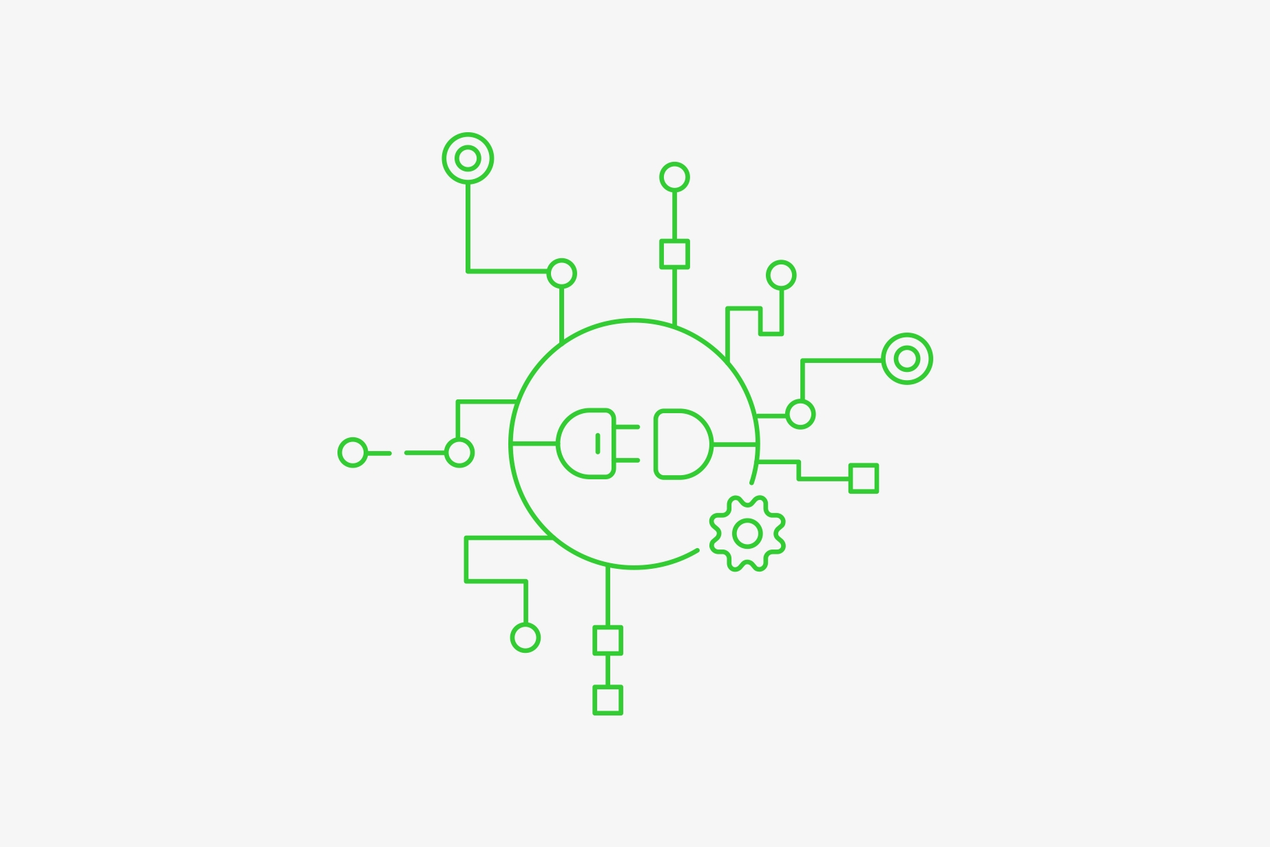 Trustly Plugins - Illustration showing Trustly integration via plugins