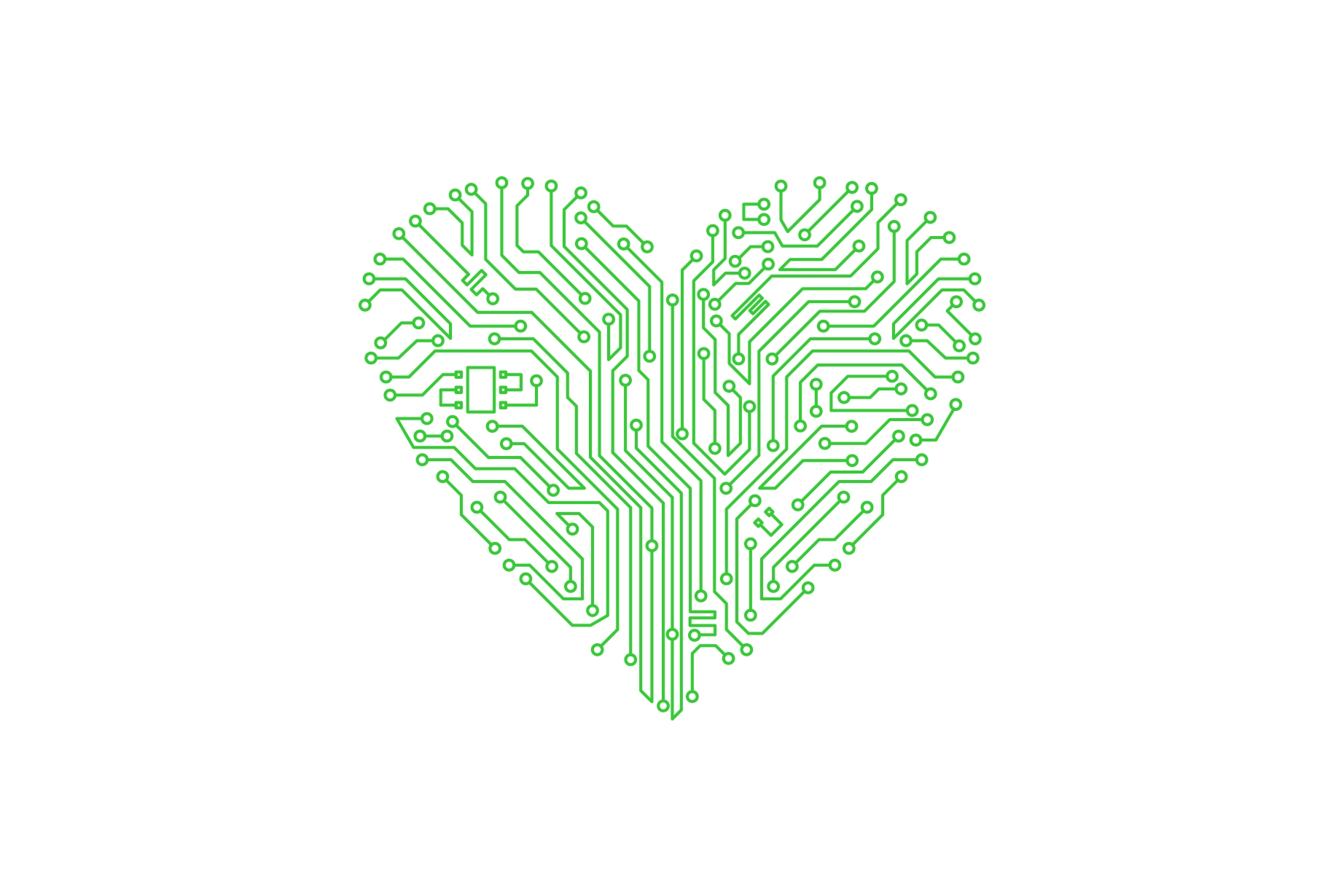 Trustly Careers - Green heart illustration