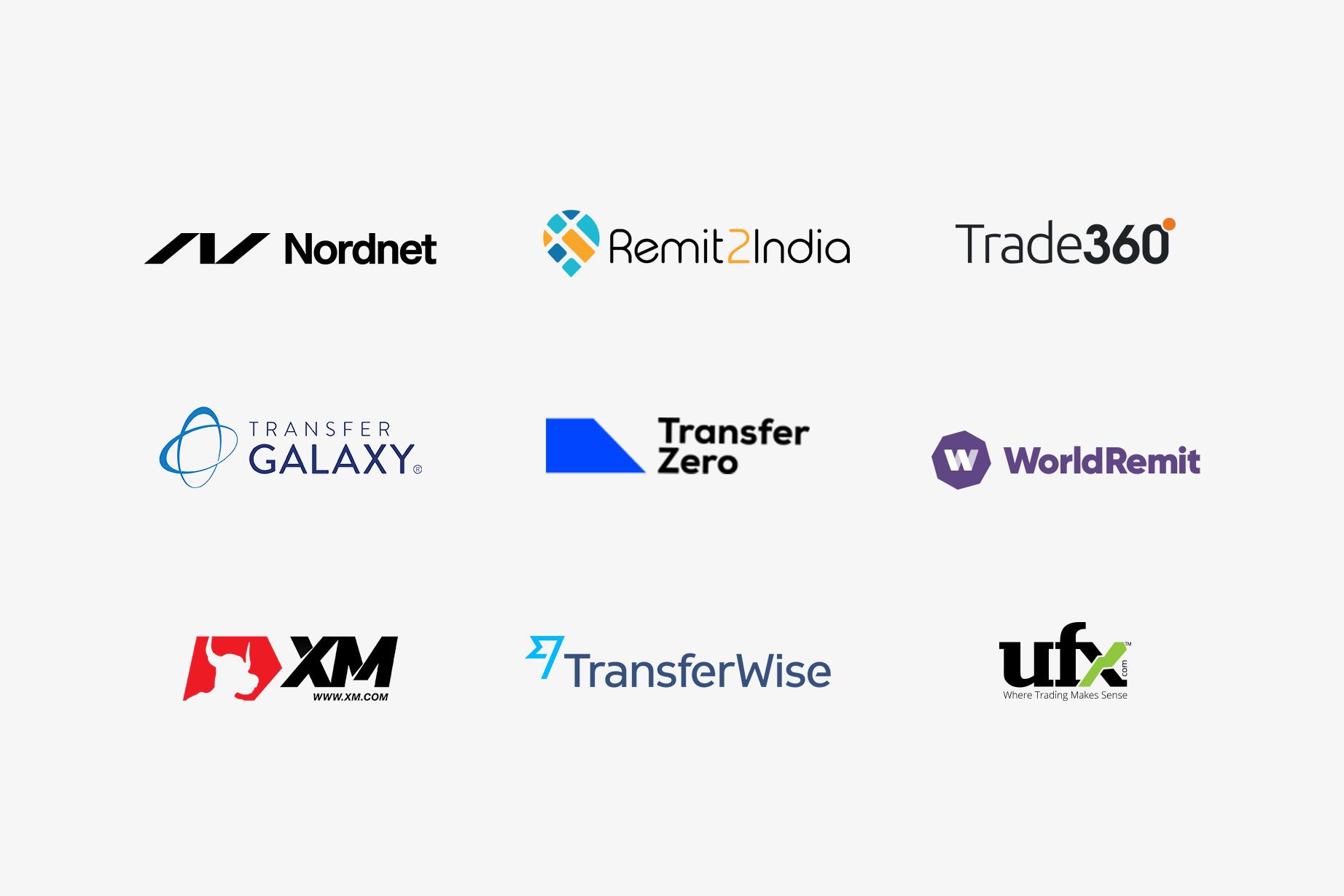 Trustly Finserv - Merchant logotypes