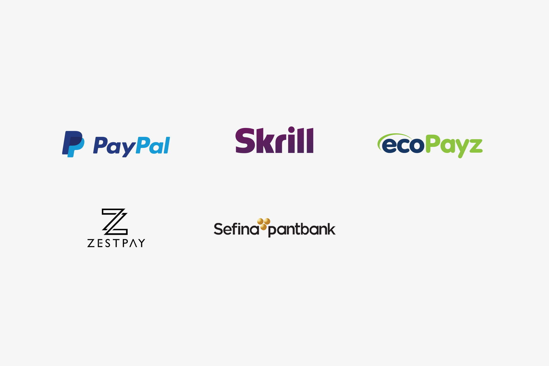 Trustly Finserv - Bank Emis partner logos