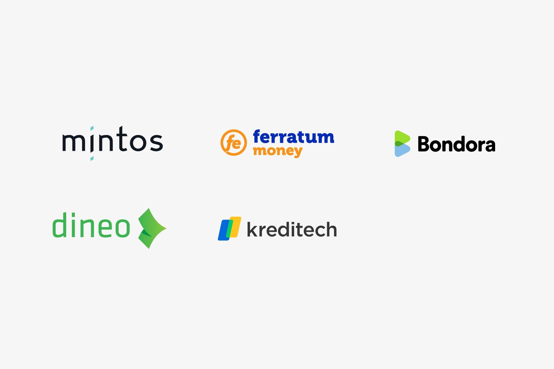 Trustly Finserv - Loans partner logos