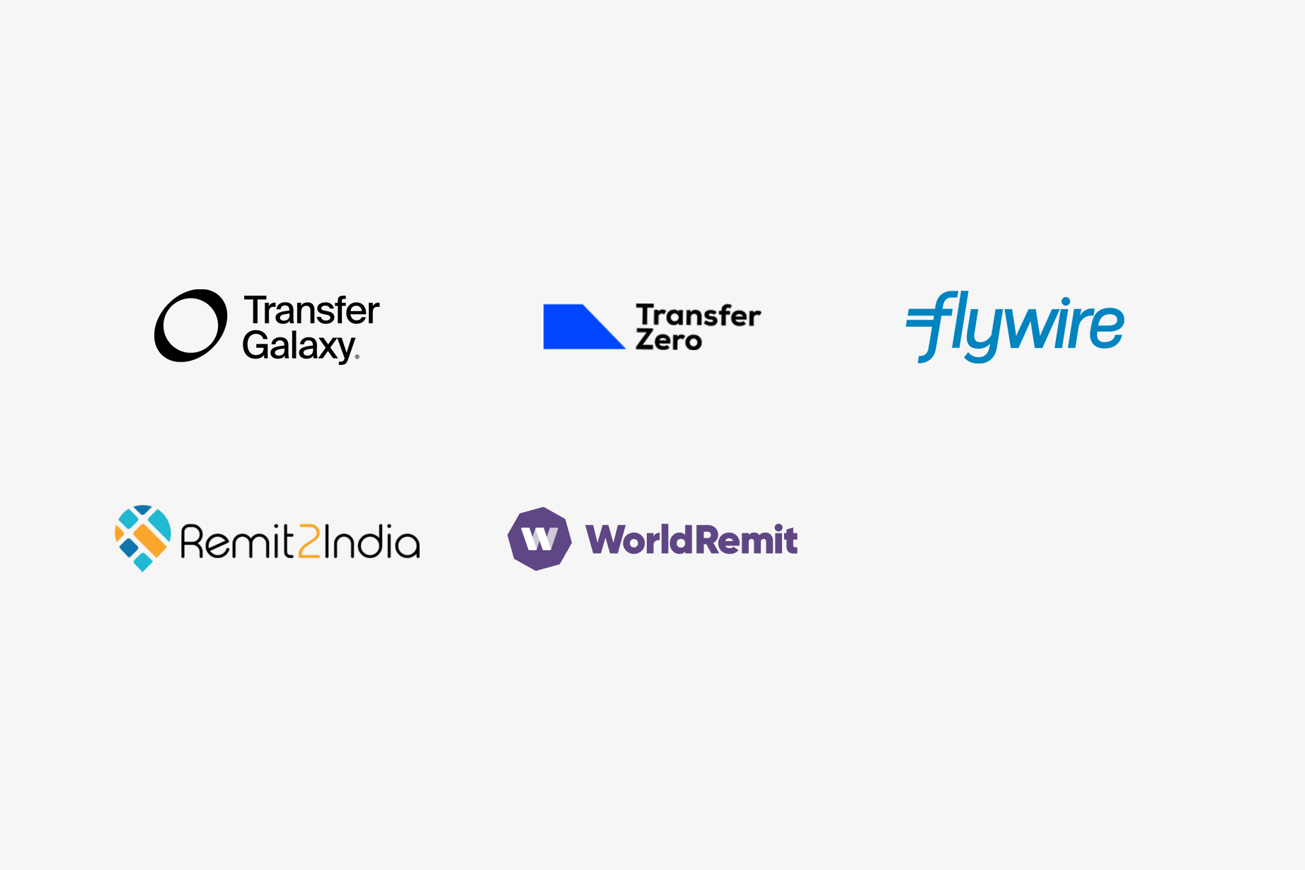 Trustly Finserv - Remittance partner logos