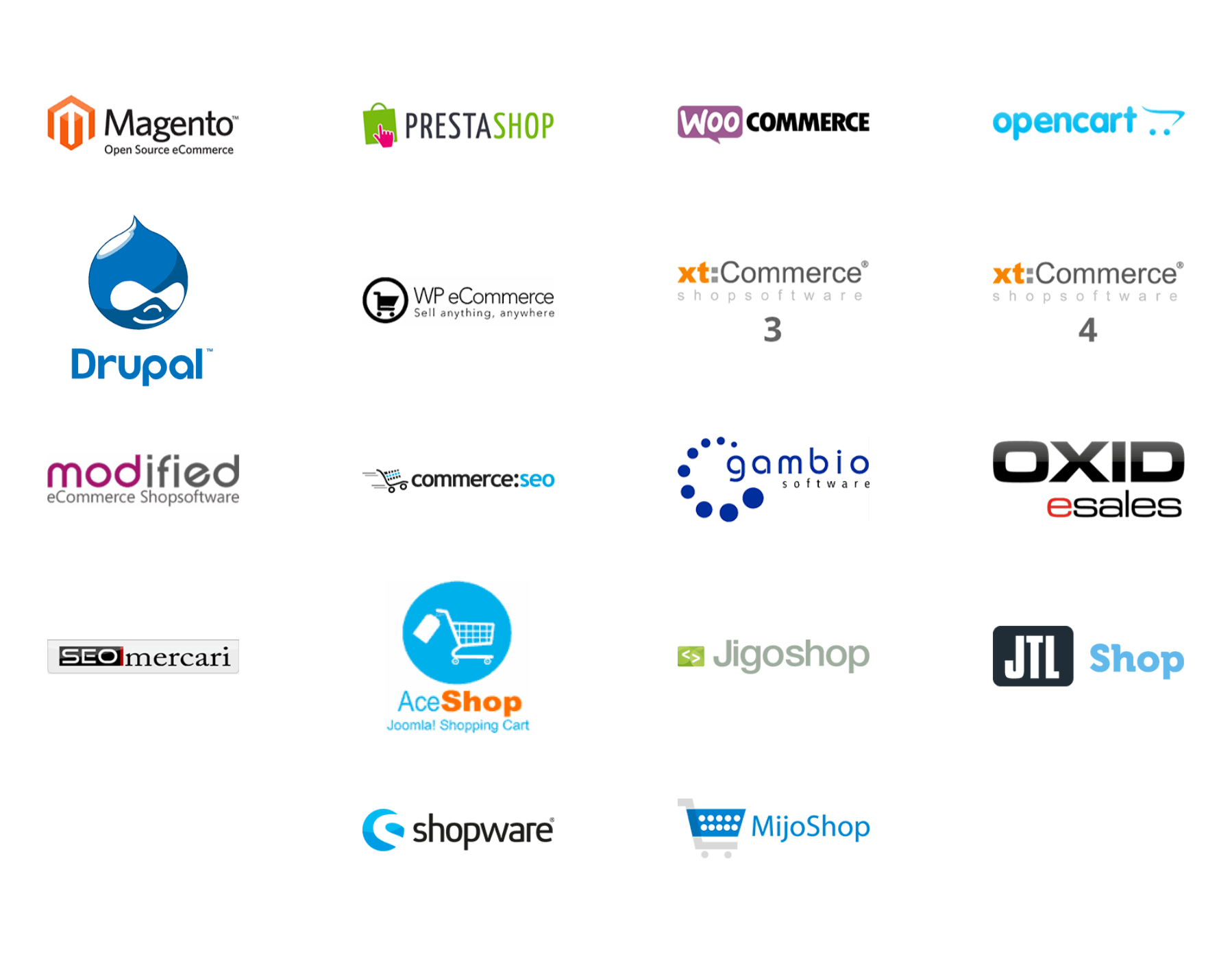 Trustly Current Partners - Plugin logotypes